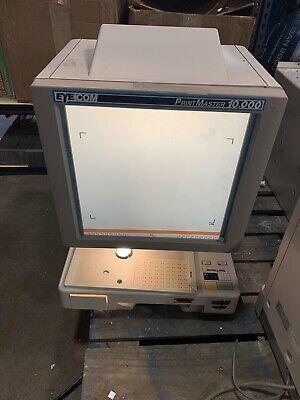 Minolta Novatec Eyecom Printmaster 10000 Microfiche Readerprinter Mw