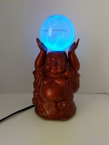 Buddha Electra Lamp Blue Lightning Bolt Plasma Ball Buddah Light LUMISOURCE