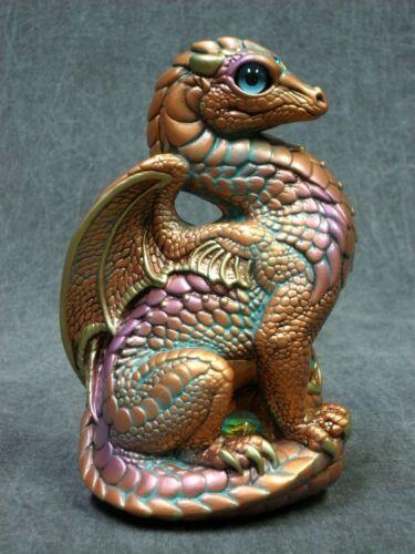 Windstone Editions NEW * Copper Patina Bantam Dragon * Statue Figurine Fantasy