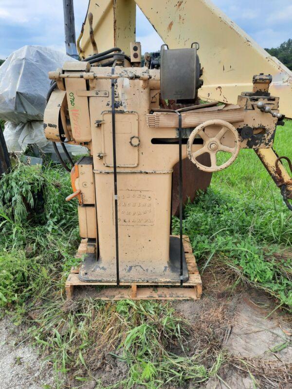Manual Oil Grooving Machine - Fischer Machine Company