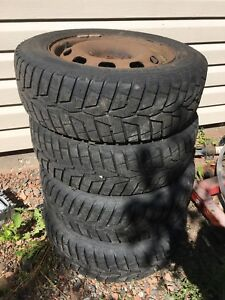 195 65 15 inch rims and tires Jetta  golf mk4
