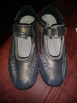 Allrounder by Mephisto Womens Niro Mary Jane Shoes, Dark Brown/Bronze, US