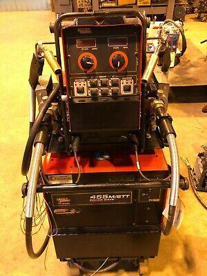 Lincoln Electric 455mstt Power Wave Multi Process Welder