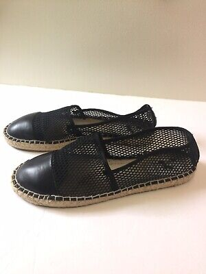 CIRCUS BY SAM EDELMAN Lena Woven Espadrilles Cap Toe Shoes Size 8