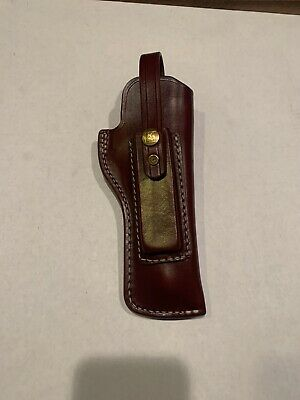 """TRIPLE K #39 PACKER HOLSTER W/ MAG POUCH FOR RUGER 22/45 5 1/2""""  NEW FACT. BLEM"""