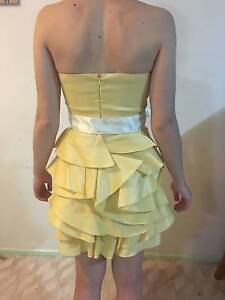 Yellow Cocktail Dress Dayboro Pine Rivers Area Preview