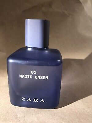Zara 01 Magic Onsen 100ML 19Z601 Made In Spain Brisei SA Used
