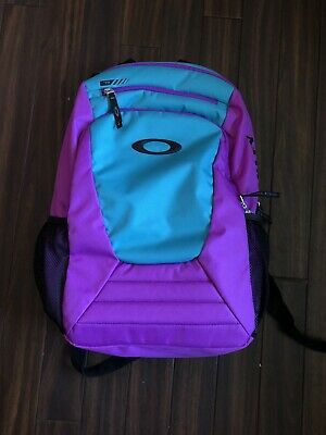 Oakley Purple & Teal Color Way Backpack for sale  Shipping to India