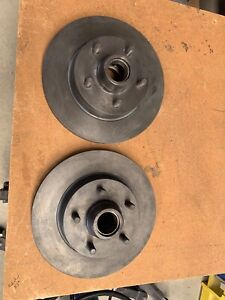 Leyland P76 as new front rotors