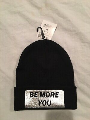 Zara Knit Hat, Beenie Style, Be More You, One Size, New!