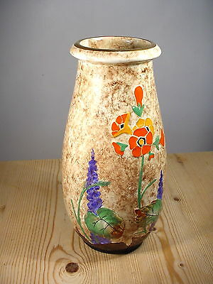 Crown Ducal 1930s Floral Vase