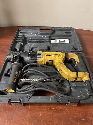 Dewalt 3 Mode Sds D-handle Hammer Drill D25263 C-x