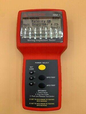 Amprobe Insp-3 Wiring Inspector Circuit Tester