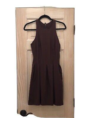 NWT Lululemon Here To There Dress Bordeaux Drama Burgundy Size 8