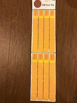 One  #200  Sure Tip Board (1-200)  Bingo/Jar Tickets Free Shipping USA