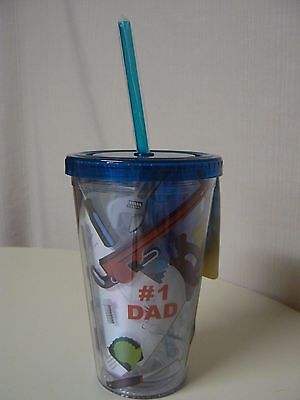 Cypress #1 DAD TOOLS GIFT SET  Insulated Cup Straw & Lid and COMPASS Multi-Tool