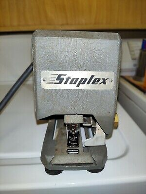 Vintage Staplex Electric Stapler - Great Used Shape - Working