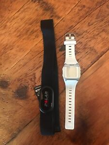 Barely used women's Polar heart rate monitor