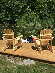 Hand made muskoka chairs
