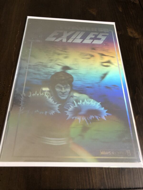 Ultraverse Exiles #1 Limited Edition Holographic Cover Malibu Comics 1993 VF/NM
