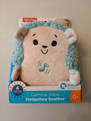 Fisher Price Preschool Calming Vibes Hedgehog Soother-!!Brand New -FREE SHIPPING