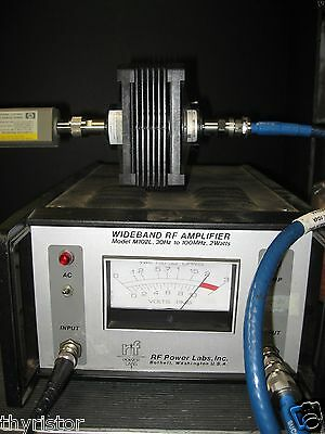 Wideband Power Amplifier 30 Hz - 100 Mhz 2wt 45db Gain Tested