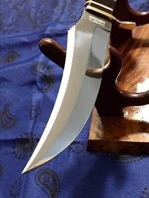 VINTAGE SOLINGEN GERMANY STAGG ANTLER FIXED BLADE KNIFE. PERFECT CONDITION.