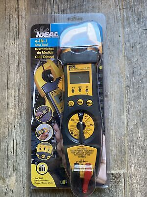 Ideal 61-704 Clamp Meter W Trms Ncv Shaker Cp Backlight