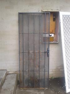 Black security door Belmont Geelong City Preview