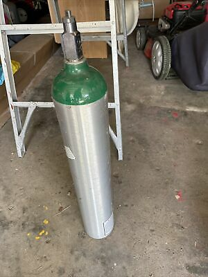 Airgas Oxygen Tank Size E 680 Liters Empty Cylinder Dot-3al2015