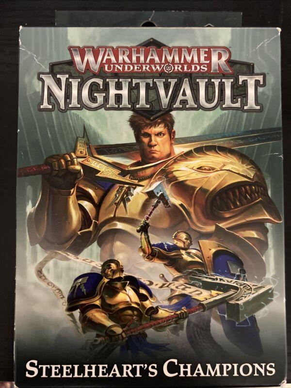 Warhammer  Underworlds: Steelhearts Champions Shadespire OOP