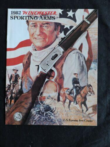 WINCHESTER Sporting Arms Catalog1982, John Wayne Winchester Commemorative Rifle