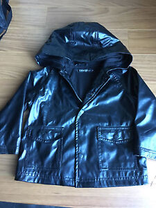 Lined rain jacket size 2T