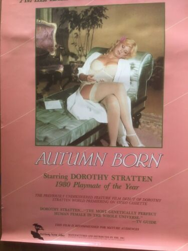 Dorothy Stratten Autumn Born Movie Poster ( difficult to find )