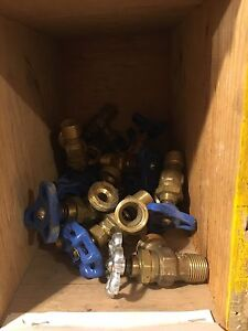 Ball valves plumbing gas threaded solder sweat hose bibb Cambridge Kitchener Area image 4
