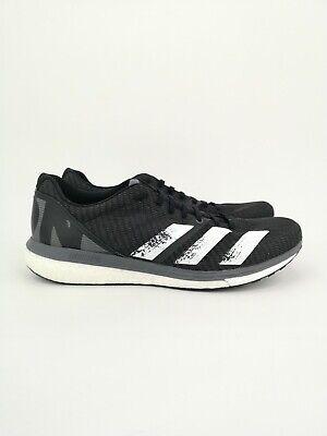 adidas Mens Adizero Boston 8 Running Shoes UK Size 9.5 Black Trainers