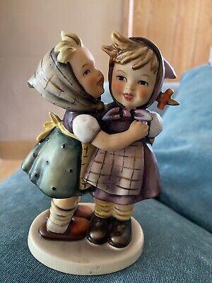 M J Hummel Two Girls Figurine. Excellent Condition