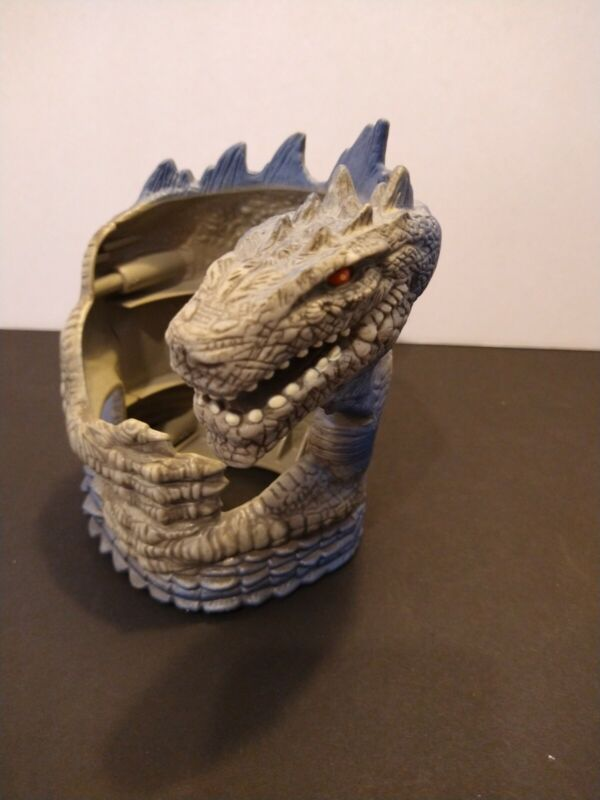 Vintage 1998 GODZILLA Cup Holder Toho Taco Bell Collectible Promotional PROMO