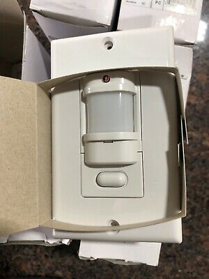 Hubbell Iws-zp-3p-w Motion Sensor Pir Wall Switch Push Button White 6 Freeship