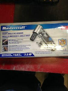 Air right angle die grinder