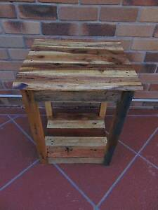 rustic pallet side table Coombabah Gold Coast North Preview