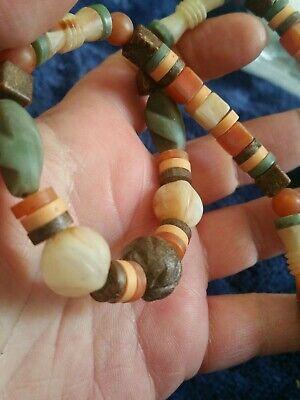 Vintage Boho Style Plastic Bead Beaded 17-18