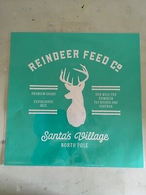 Chalk Couture Reindeer Feed Co, 18 x 18, New Unopened, Hard to Find - Reindeer Feed