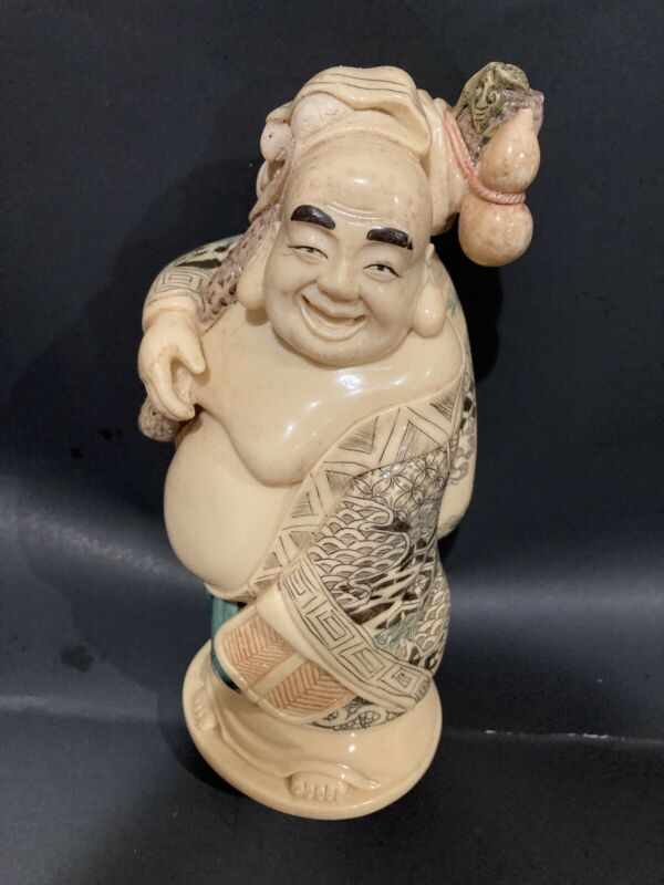 VINTAGE Large  Buddha  Hand Carving
