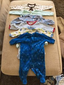 Lot of baby boy clothes 0-3mo