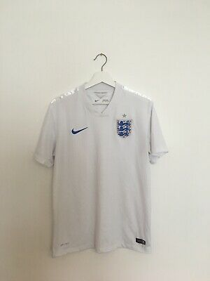 England 2014 Nike Home Football Shirt Size Adult Medium