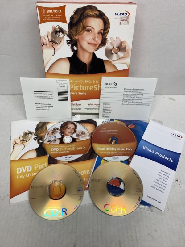 DVD Picture Show 2 Digital Camera Suite by ULEAD Used