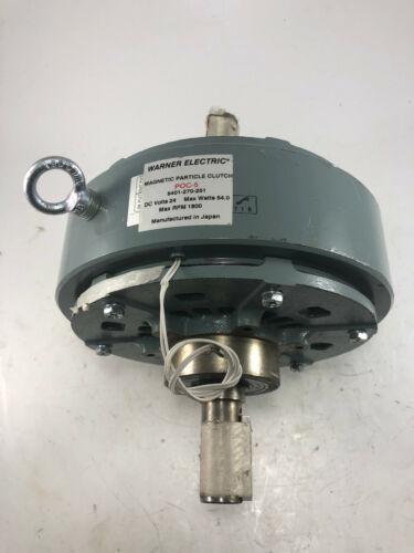 Warner Electric (Altra) Manetic Particale Clutch 24VDC 5401-270-251 POC-5