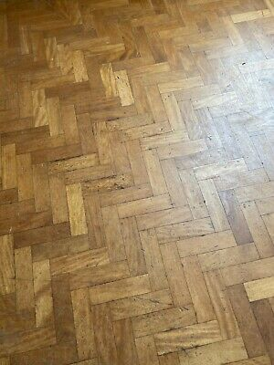Reclaimed Period Beech Parquet Block Flooring