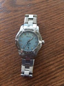 Bulova ladies watch. Mother of pearl face